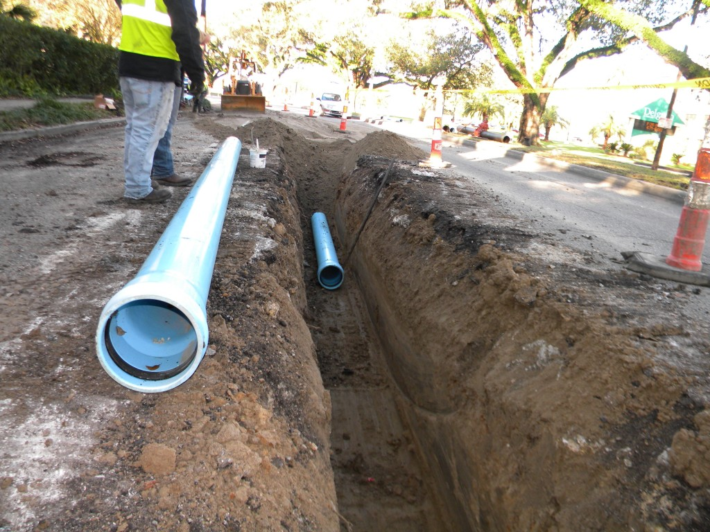 New Orleans Sewerage and Water Board Waterline Replacement Program